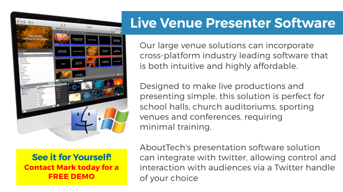 Large Venue - 05 - Presentation Software