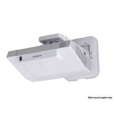 Hitachi CPTW3005WNMF WXGA 3,300 ANSI Lumen Interactive Projector with HAS-WM05 Wall Mount and FT-01 Finger Touch Module