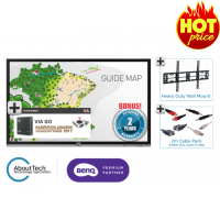 "*Special Offer* BenQ RP703 70"" Interactive Display Package"